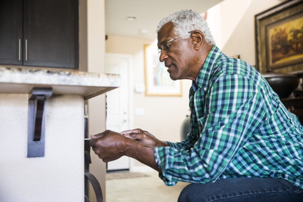 staying at home as you age